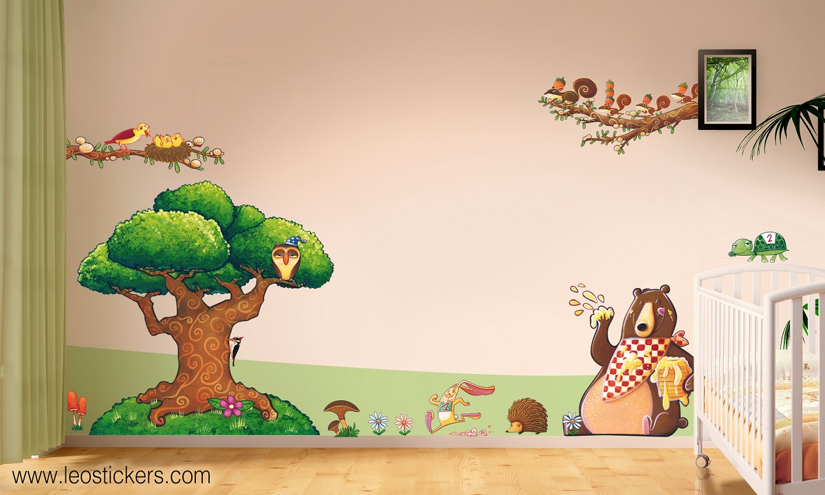 Decorazioni per bambini cheap metro misura bambino in stoffa decorazione per cameretta per - Camerette usate brescia ...
