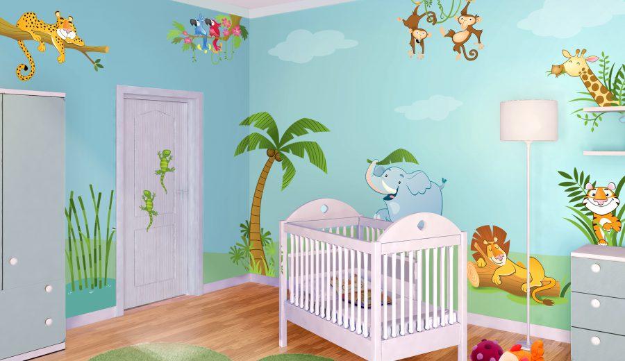 Meglio la culla o i lettini per neonati 18 spunti di for Idee pittura cameretta ragazzi