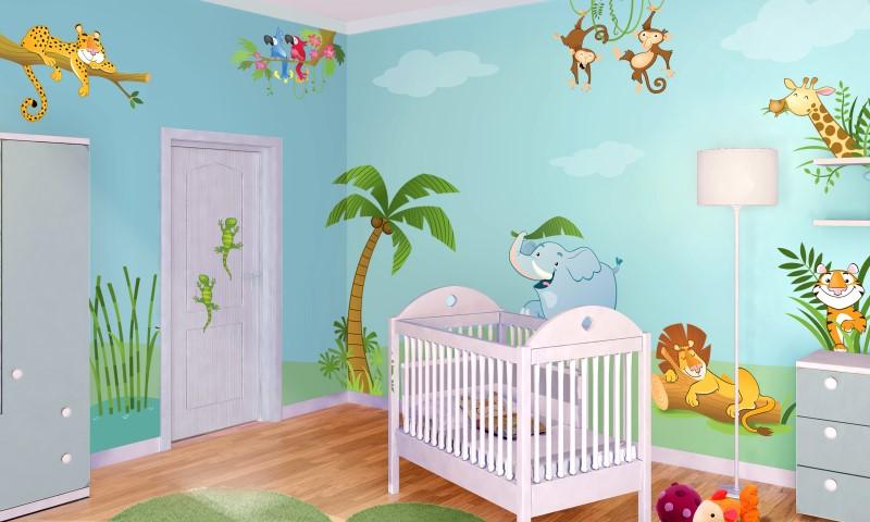 10 idee per la cameretta di un bambino foto video e ispirazioni - Cameretta neonato idee ...