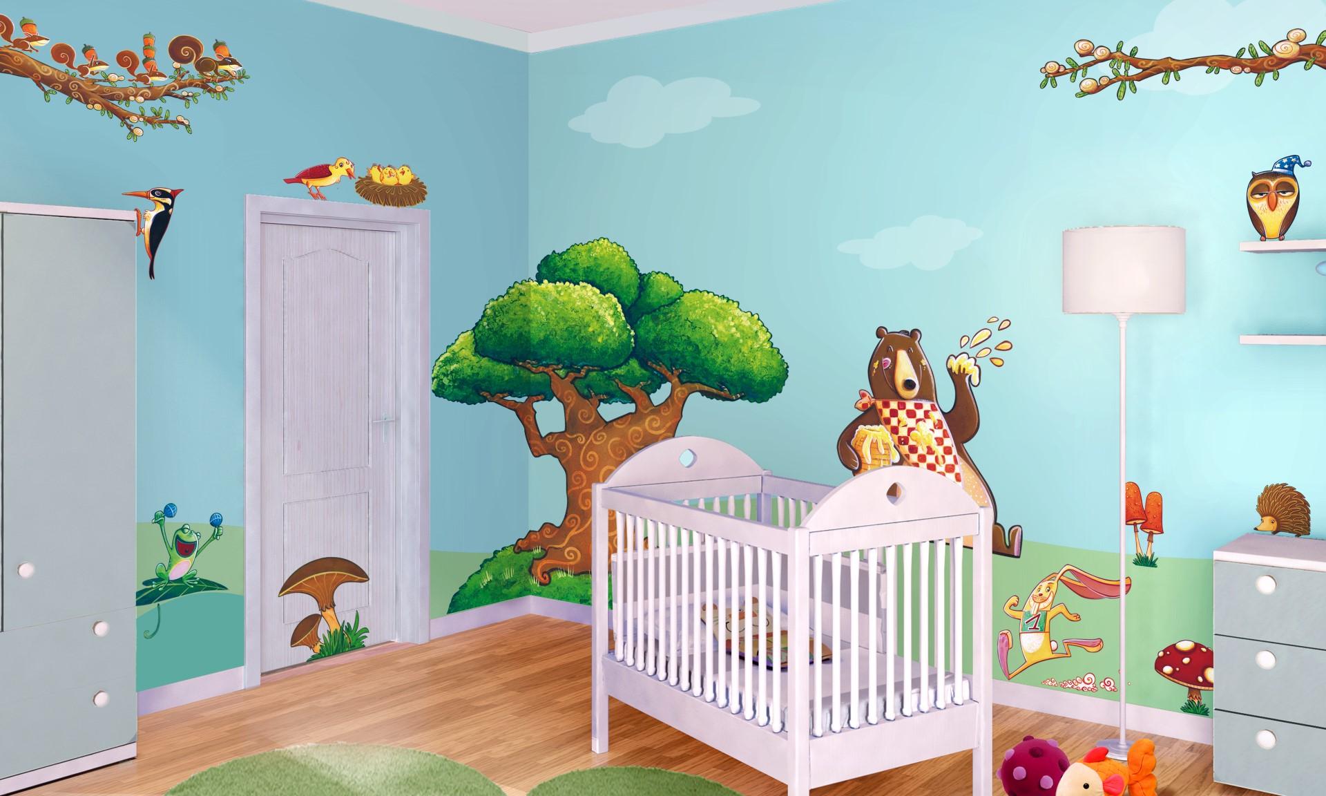 Dipinti Murali Per Camerette 10 idee per la cameretta di un bambino: foto, video e