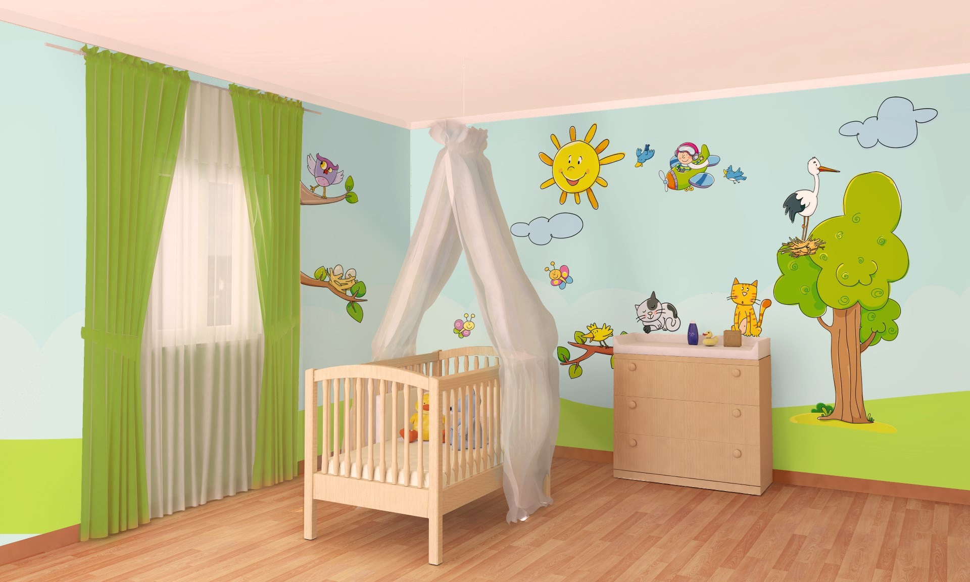 Estremamente 10 Idee per la cameretta di un bambino: foto, video e ispirazioni! QL38