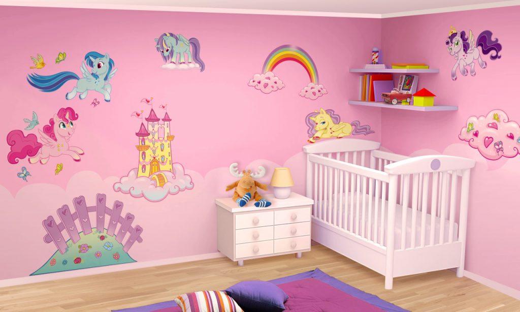 Quale colore per le pareti della cameretta dei bambini i for Camerette particolari per bambini