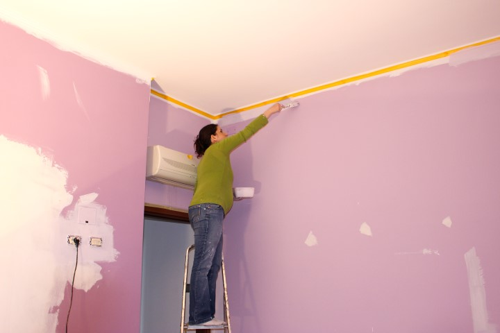 cameretta-pittura-decorazione - Dal Pancione alla Cameretta