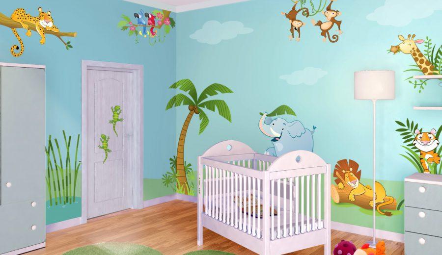Cameretta verde cameretta blu cameretta azzurra cameretta gialla idee foto e ispirazioni - Colore cameretta neonato ...