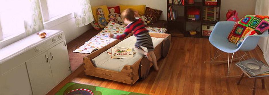Le regole per arredare una cameretta in stile montessori - Letto montessori ...