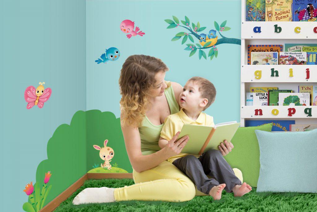 Angolo Lettura Per Bambini : L angolo lettura per i bambini mammamogliedonna