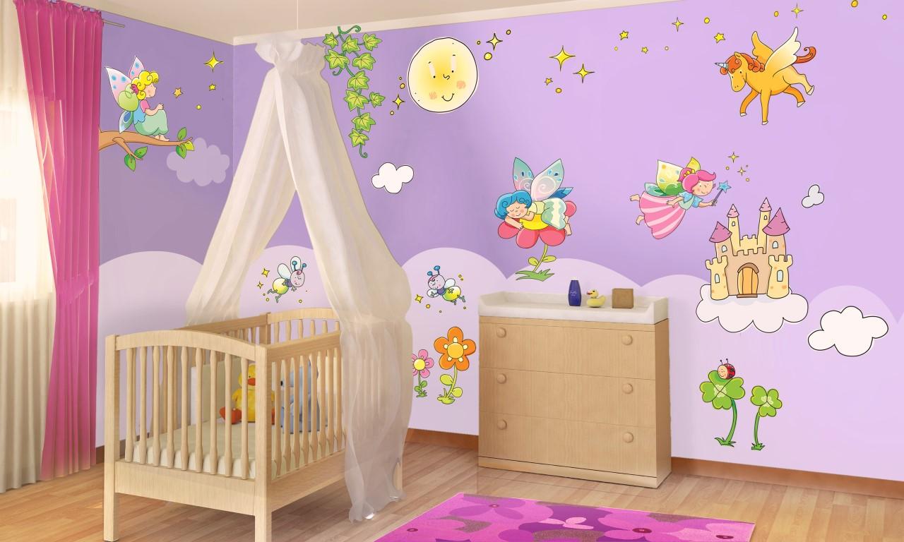 Dal pancione alla cameretta bambini alle prese con neo genitori - Dipingere cameretta bambino ...