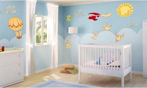 Adesivi murali uccelli stickers e decorazioni leostickers - Decorazioni camerette bambini immagini ...