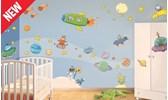Adesivi per decorare i mobili dei bambini leostickers - Decorazioni murali per camerette bambini ...