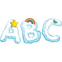 Stickers murali bambini cameretta tra le nuvole for Crea la tua cameretta