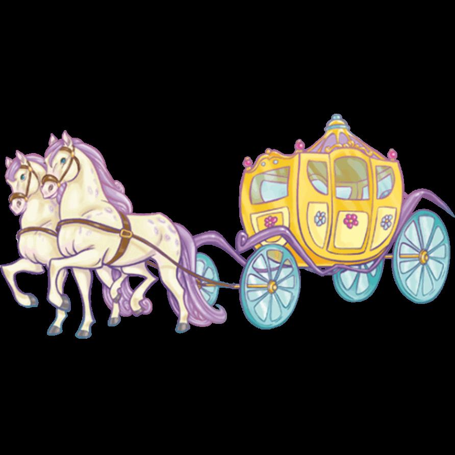 Adesivi murali carrozza leostickers - Cameretta delle principesse ...