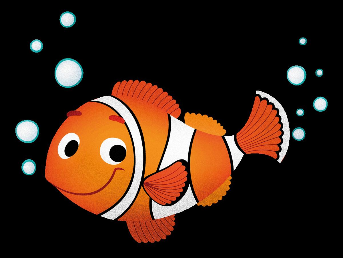 Adesivi murali per bambini adesivo cameretta stickers for Immagini pesce pagliaccio