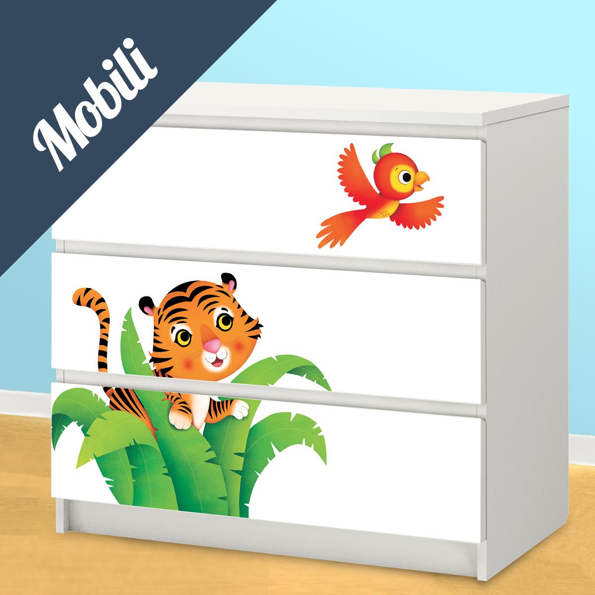 Decorazioni camerette leostickers for Stickers per mobili