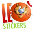 Stickers Murali Bambini - Nella giungla